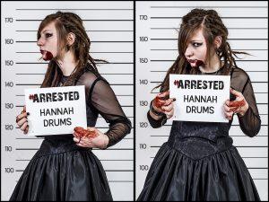 Hannah Selk - Drums